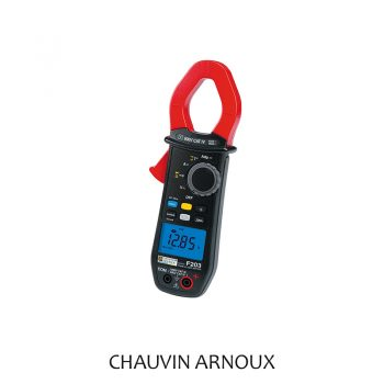 F203 600V AC/DC TRMS Clamp Multimeter