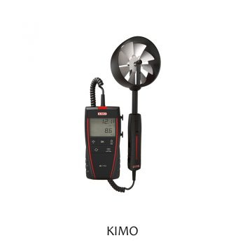 LV110 Portable Thermo-Anemometer with Remote Ø100mm Vane Probe