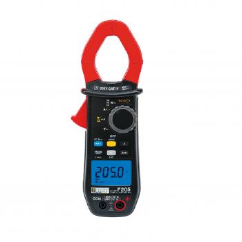 F205 Clamp Multimeter
