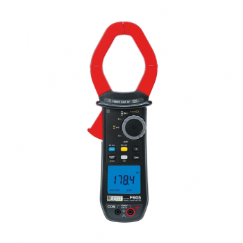 F605_2,000 A TRMS AC+DC Multimeter Clamp