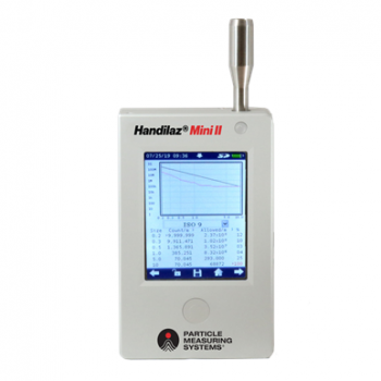 Handilaz Mini II Palm Size Airborne Particle Counter