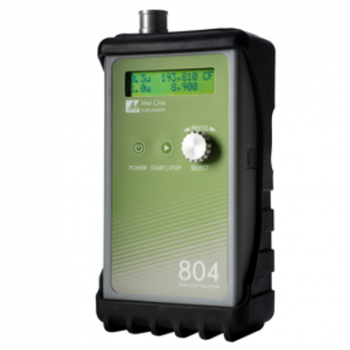 804 4-Channel Handheld Particle Counter
